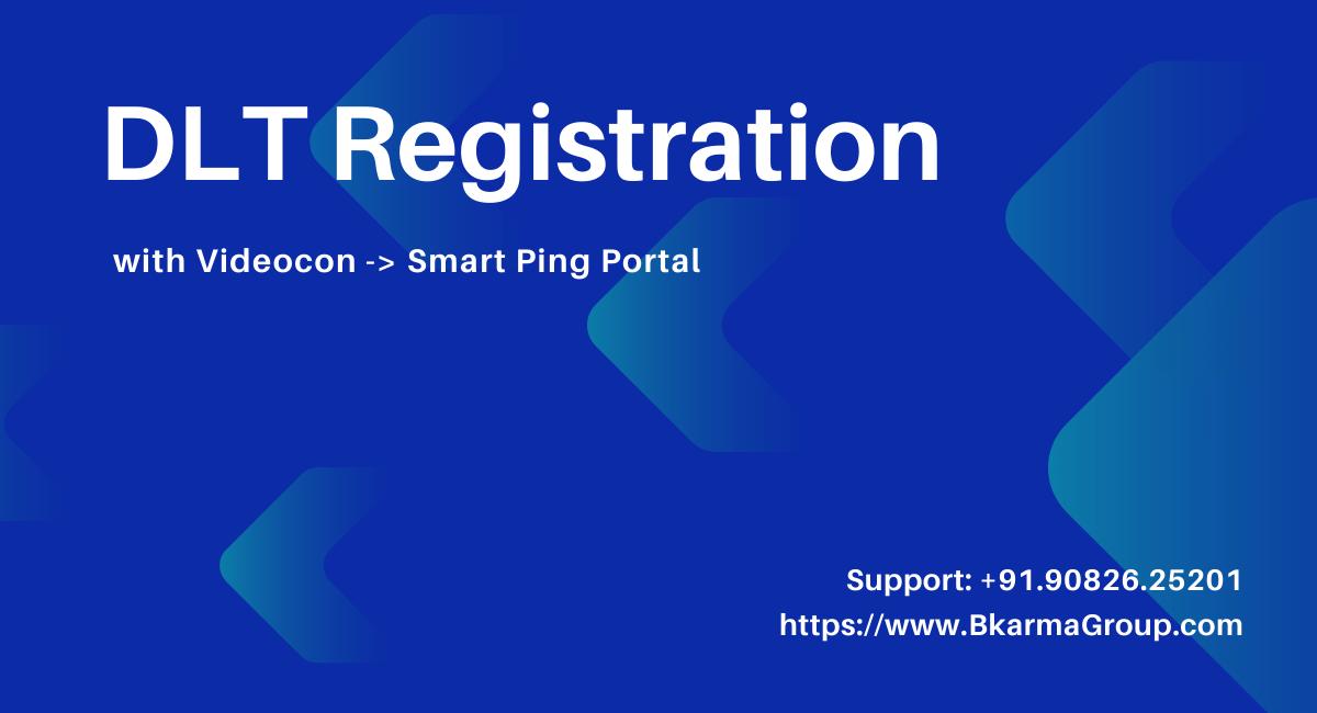 Blog article on DLT registration process